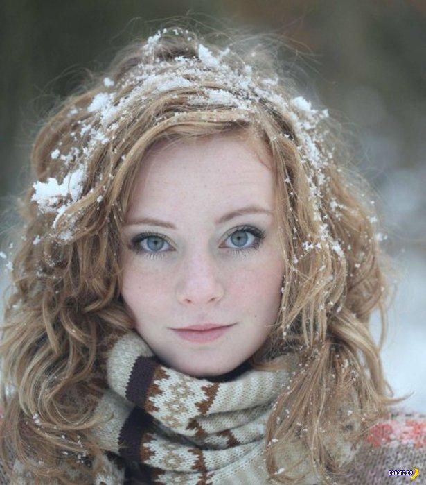 Красивые девушки и их красивые глаза