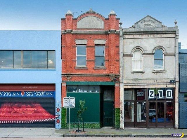 За фасадом старого магазина