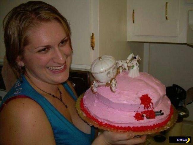 Торты в честь развода