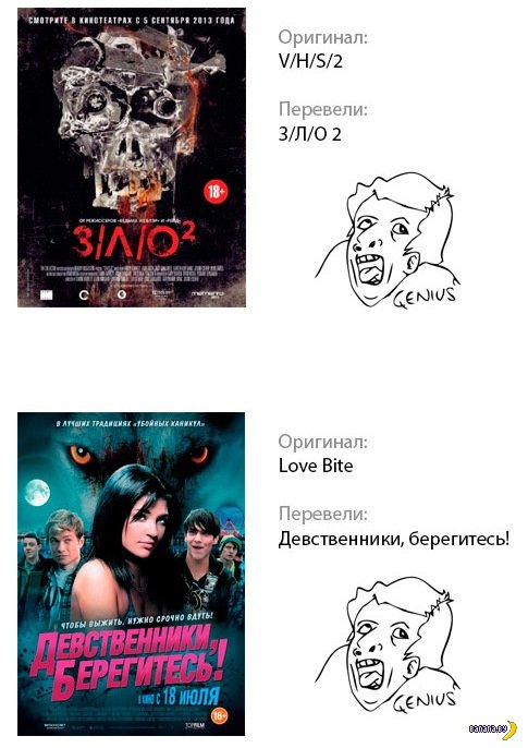 Про переводы названий фильмов