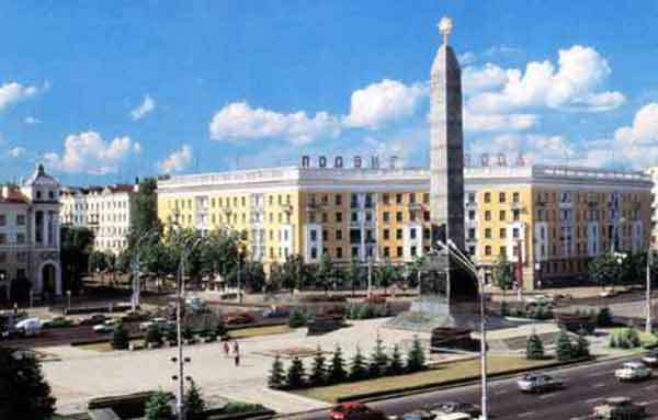 В Минске на выходных закроют движение на площади Победы