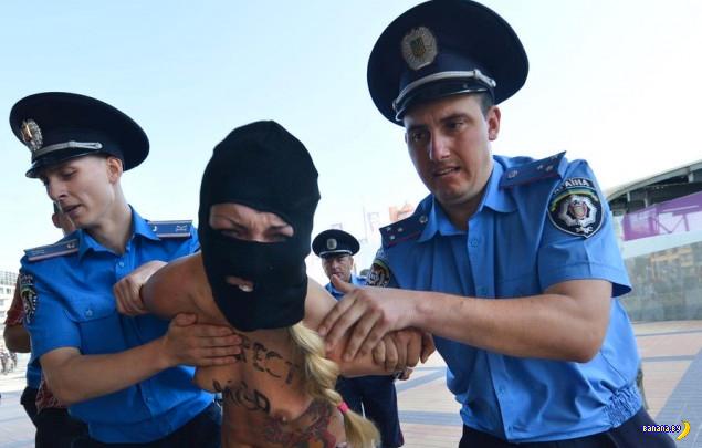 Провал FEMEN - покакать не удалось