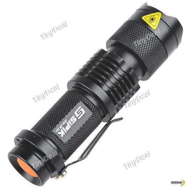 Tinydeal: светодиодные фонарики