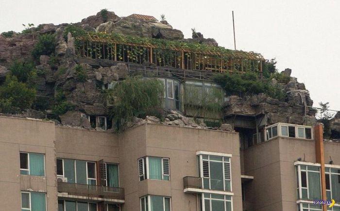 Бункер на крыше