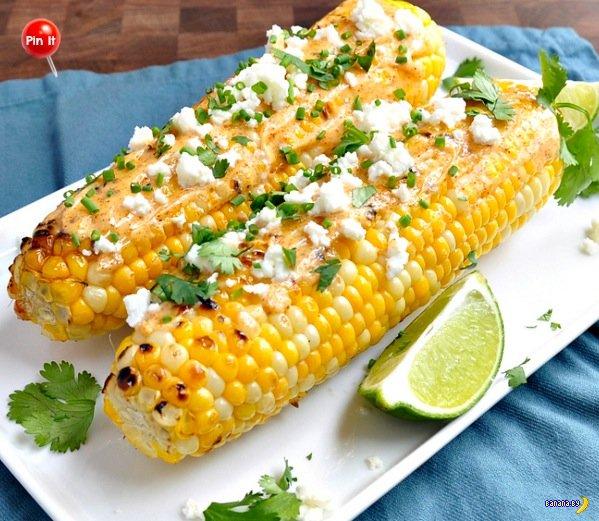 Еще один рецепт кукурузы на гриле