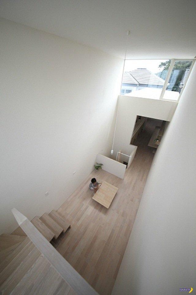 Очень узкий дом из Японии - 2