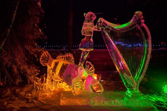 Чемпионат мира по ледяным скульптурам