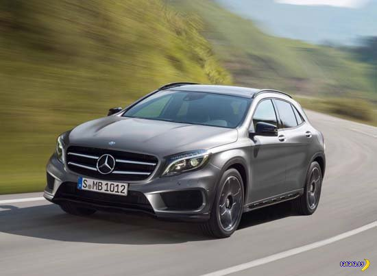 Показали 2015 Mercedes-Benz GLA