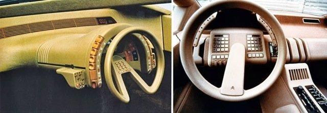 Безумные приборные панели автомобилей из 1980-х