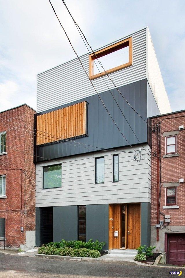 Слоёный дом в Канаде