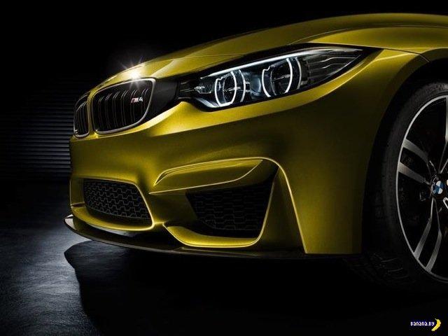 Утечка фотографий BMW M4 Concept