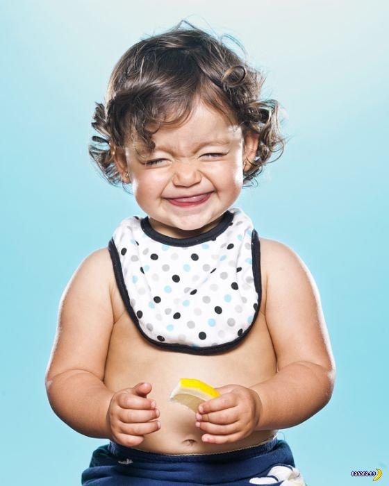 Дети и лимоны