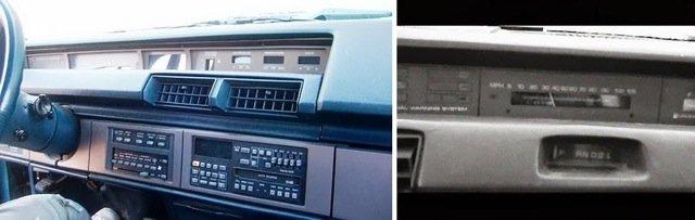 Еще безумные приборные панели из 1980-х