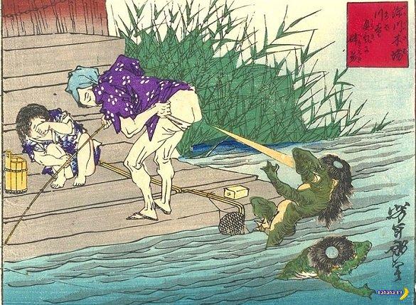 Монстры Японии