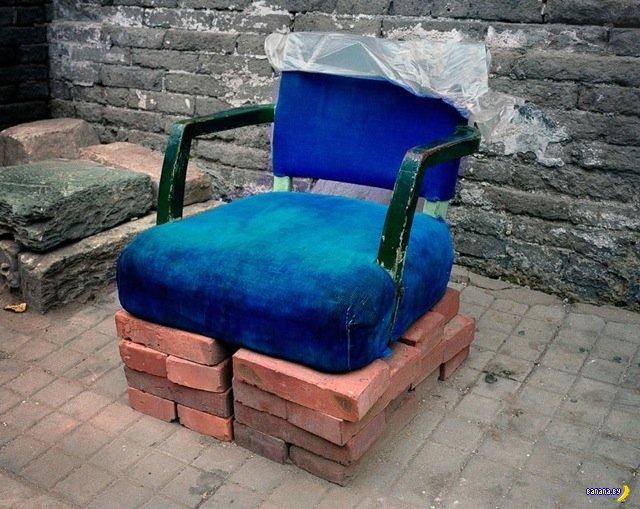 Китайские уличные кресла