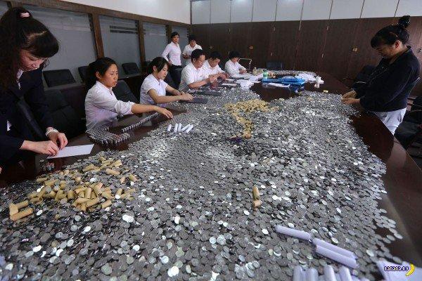 Как в Китае троллят банки