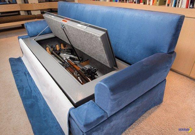 Боевой диван