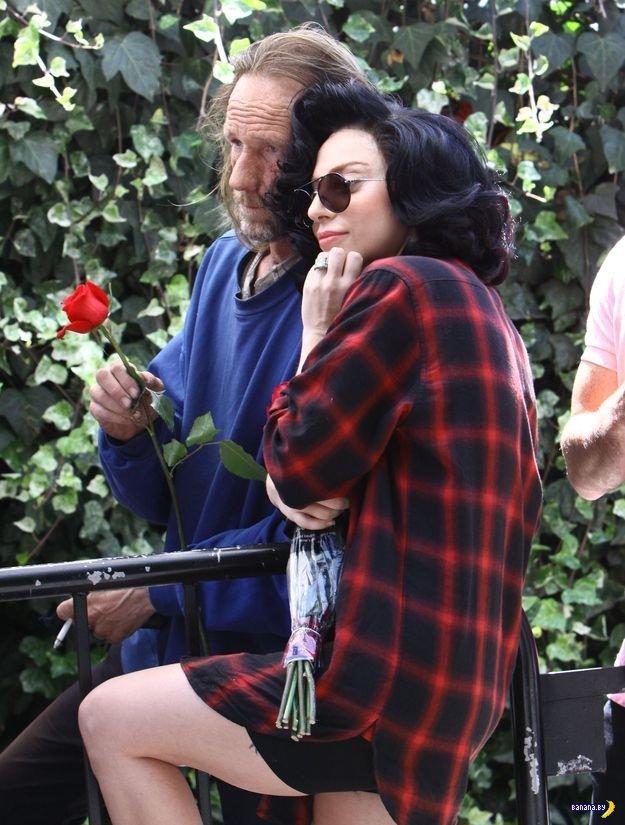 Гага, бомж и понты