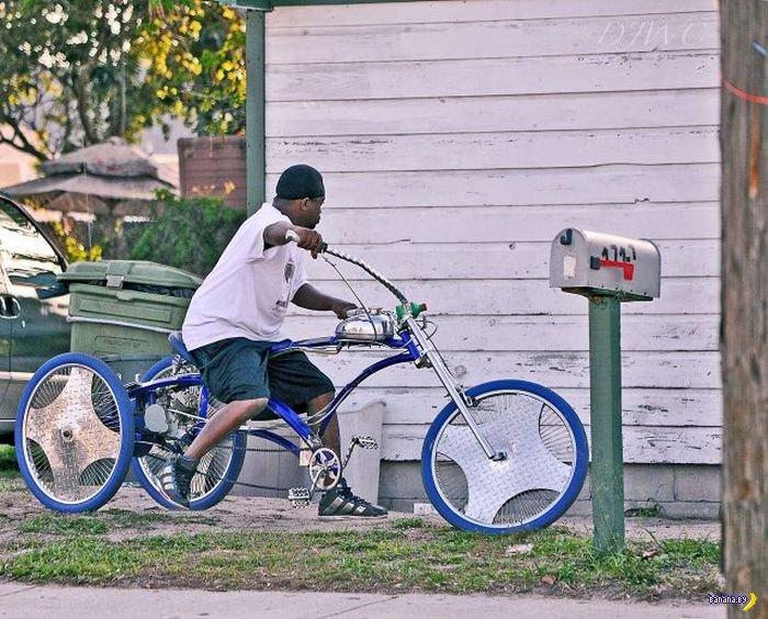 Прикольные велокартинки