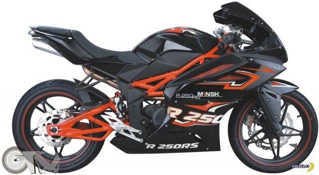 Мотоцикл мечты. Минск R250