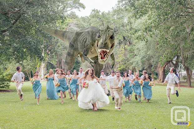 Свадебные кошмары - 5 - Убегашки
