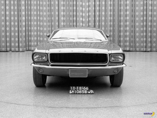 Агрессивный концепт 1966 Ford Mustang March 1