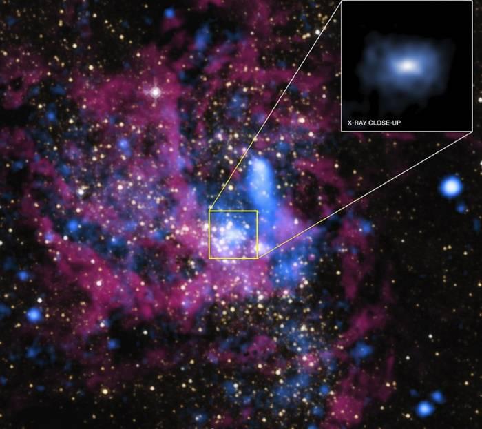 Черная дыра в центре нашей Галактике отличается скромным аппетитом
