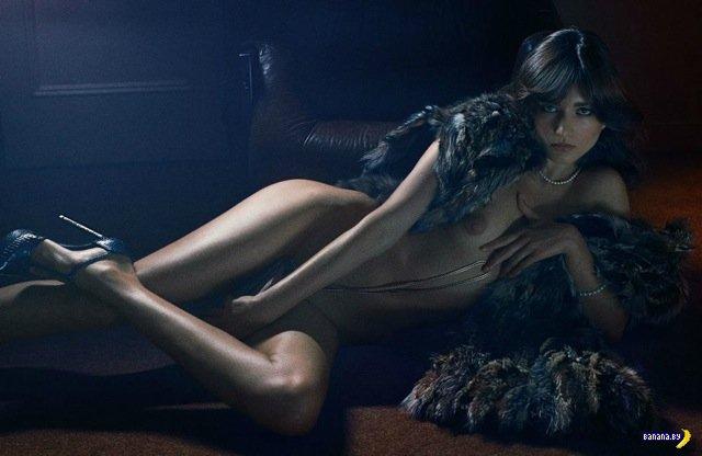 Журнал Interview Mag раздел топ-моделей