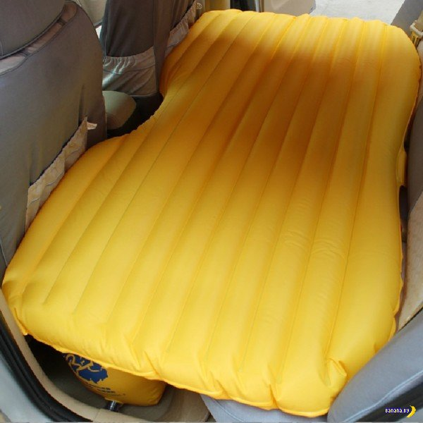 Надувная кровать в машину