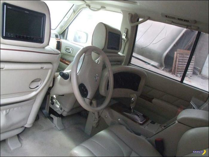 Беспощадная переделка Nissan Patrol