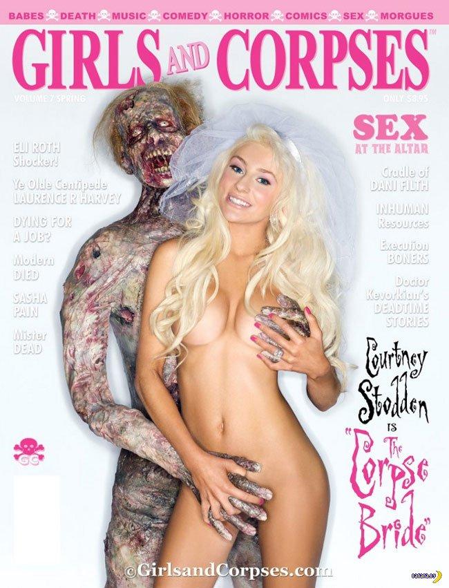 Кортни Стодден в 'Girls and Corpes'