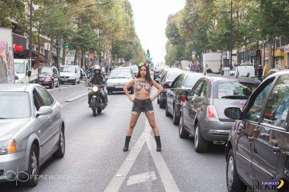FEMEN теперь и в Мексике