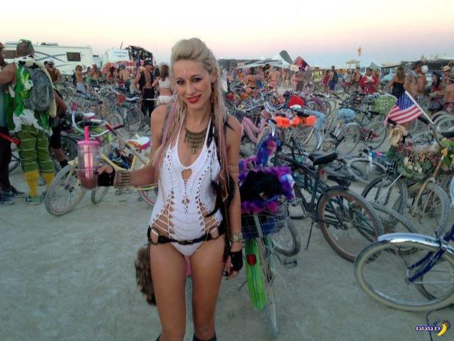 Прикольные костюмы с фестиваля Burning Man