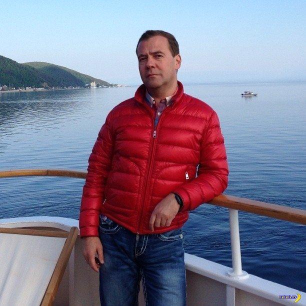 Фотографии из Инстаграма Дмитрия Медведева