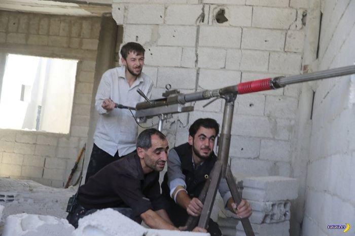 Сирийские повстанцы создают новые виды вооружений