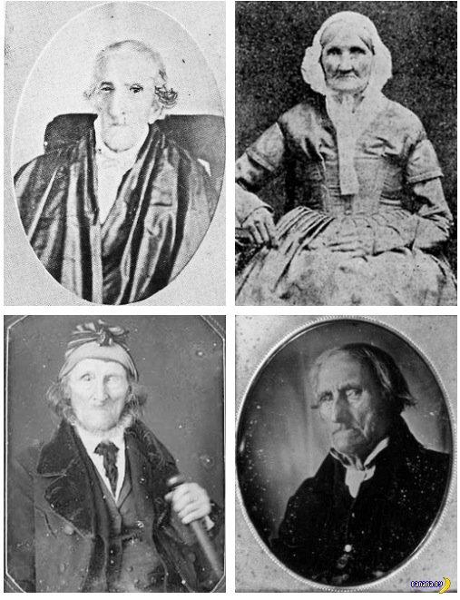 Древнейшие люди на фото