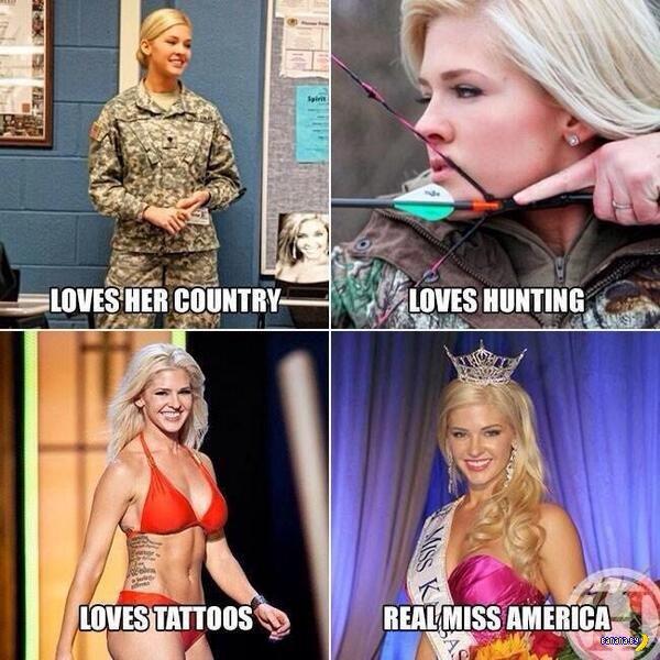 Америка негодует – Мисс Америка не устроила!