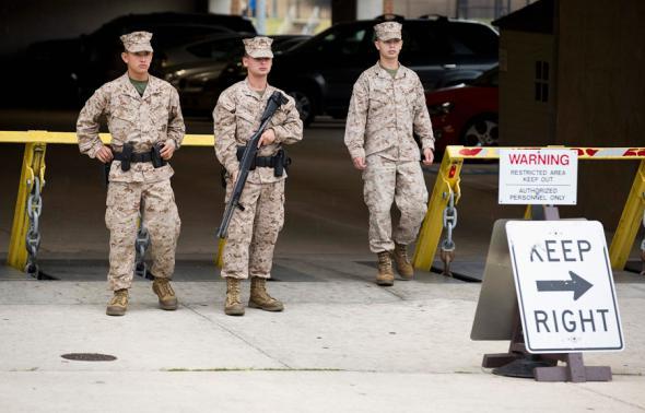 Стрельба в штаб-квартире ВМС США