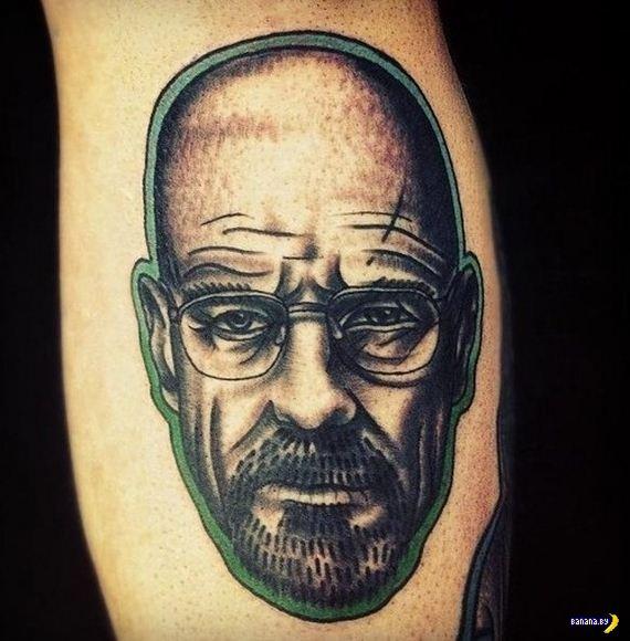 Мистер Уайт на татуировках