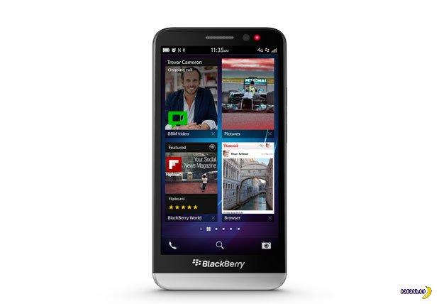 Выходит BlackBerry Z30