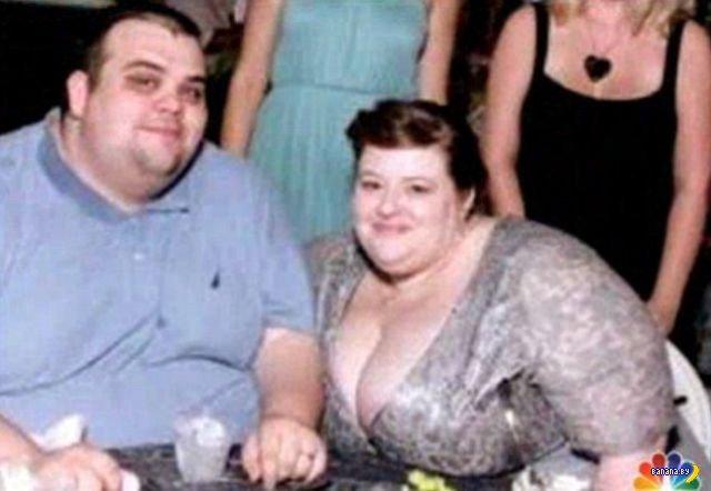 Под скафандром из жира нашли двоих людей!