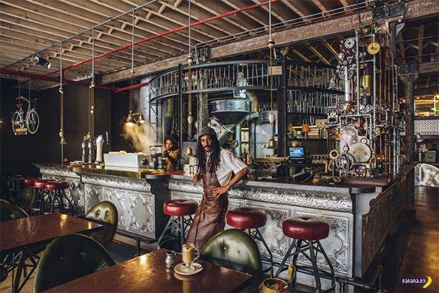 Стим-панк кофейня в Кейптауне