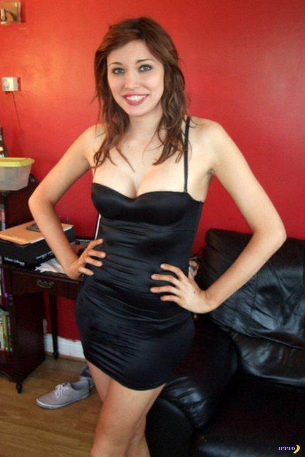 Красивые девушки в обтягивающих платьях - 4