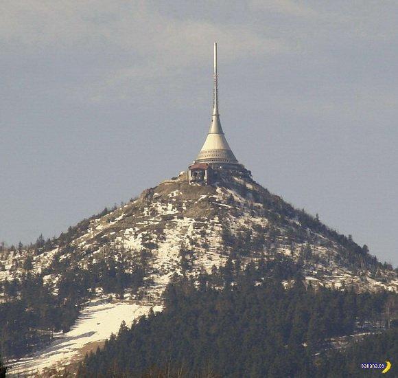 Уникальные отели мира: Hotel Ještěd, Чехия