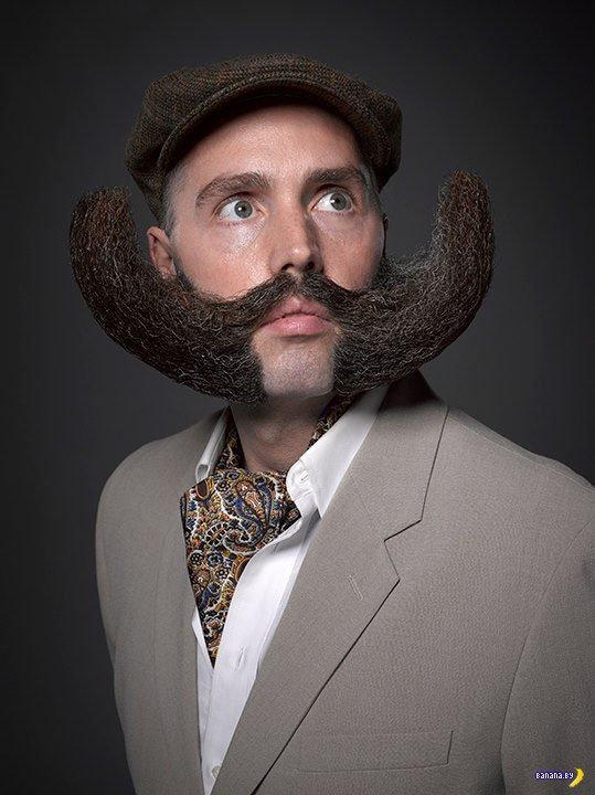 Конкурс усатых и бородатых