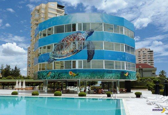Уникальные отели мира: Мармара Анталия, Турция