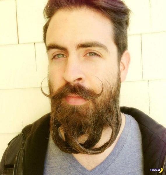 Исайя Уэбб и его знаменитая борода