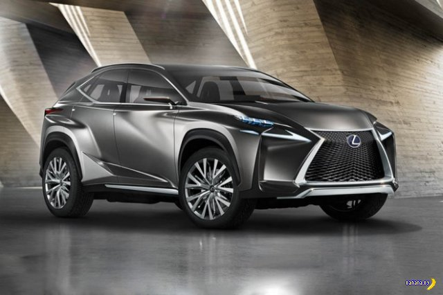 ������� Lexus LF-NX