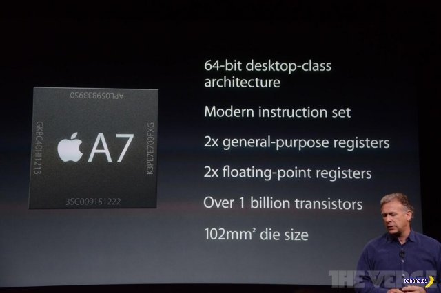 Презентация Apple 10 сентября 2013 (завершено)