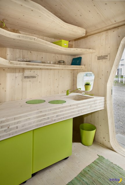 Компактный дом для студента